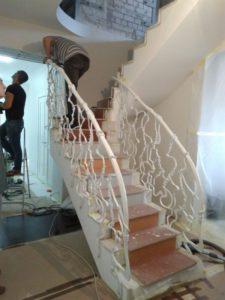Treppengelander innen №10