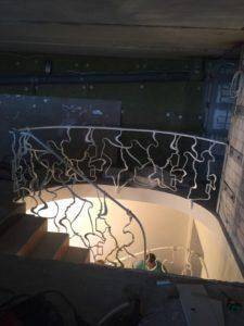 Treppengelander innen №12