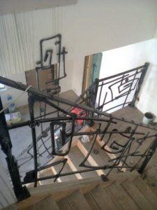 Treppengelander innen №153