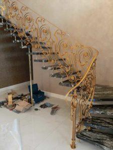 Treppengelander innen №46