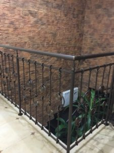Treppengelander innen №5