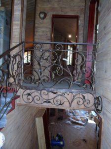 Treppengelander innen №8