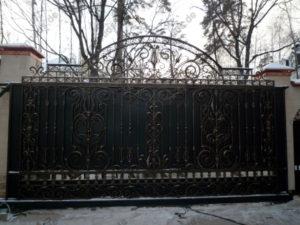 Schmiedeeisen Tore №22