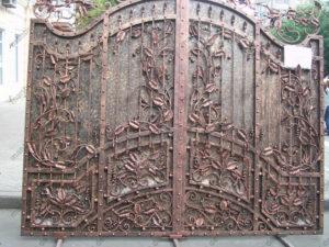 Schmiedeeisen Tore №36