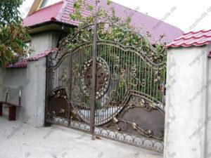 Schmiedeeisen Tore №39
