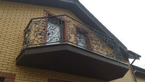 Balkongelender #48
